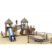 Games Wooden Playground Fitness Equipment Kai Qi Playground Non- Toxic Medium Size