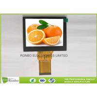 Quality 4.0'' 320x240 Industrial TFT LCD Display Landscape Type With RGB 24 Bit Interface for sale