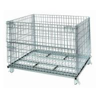 Quality foldable storage cage for sale