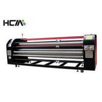 Quality Textile Controler Oil Heat Transfer Machine Roller / Roll To Roll Sublimation Machine for sale