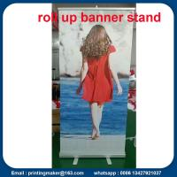 Quality Aluminum Pull Up Trade Show Banner for sale