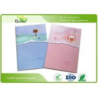 Flexographic Printing Softcover Lined Exercise Books for Students ROHS