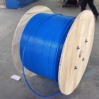 Quality PVC Sheath Armoured Fiber Optic Cable Mining Flame Retardant MGTSV G652d Stranded for sale