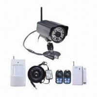 Quality Wireless Intelligent MMS/SMS Alarm System with Infrared Night Vision Camera for sale