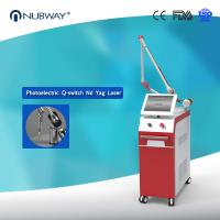 China 4 Wavelengths 1064nm&532nm&585nm&755nm Q switch Nd Yag Laser for All Tattoo Colors Removal on sale