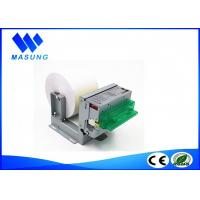 All In One Small Kiosk Thermal Receipt Printer 80mm  Panel Mounting For Fiscal