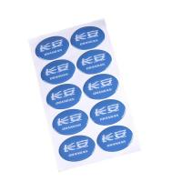 China Waterproof Self Adhesive Removable Labels Die Cut Reflective Car Body Support on sale