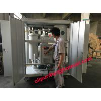Quality Manufacturer Vacuum Steam Turbine Oil Purifier,Emusified Oil Purification plant, turbine oil dehydrator with enclosure for sale