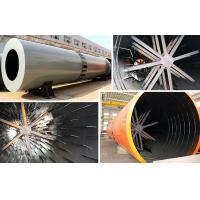 Quality 1.9 - 76.0 T / H Cement Rotary Dryer , Rotary Drum Dryer For Coal Mud / Slag for sale