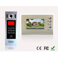 Quality Best Selling Building Touch Screen Video Door Phone With Home Automation Fuction Touch Screen buildind Video Door Phone for sale