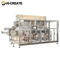 China Full Servo 5.5T Baby Diaper Packing Machine on sale