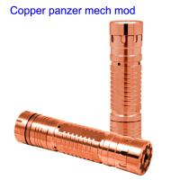 Quality copper panzer mech mod wholesale china ecig supplier for sale
