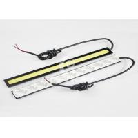 Quality Super Bright White COB Car LED Daytime Running Lights 6000K - 6500K for sale