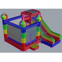 China Home Used Mini Inflatable Jumping Castle Kids Combo Bounce House Inflatable Slide on sale