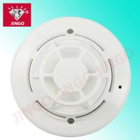 Quality Addressable fire extinguishing alarm 24V systems heat and smoke combined detector for sale