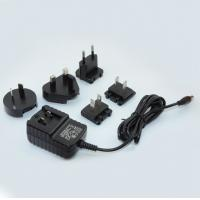 China 5V1A Interchangeable plug power adapter 5W switching power supply,100-240VAC for LED Lighting/digital camera CCTV on sale