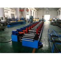 Quality 5mm Thick C Purlin Roll Forming Machine With Gear Box Drive for sale