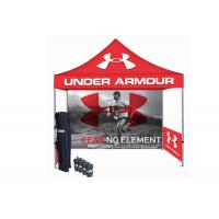 Quality Custom Printed Folding Canopy Tent Aluminum Tent Frame 3X3 Simple Set Up for sale