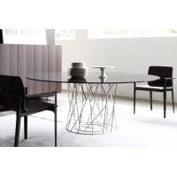 Quality Isamu Cyclone Modern Dining Room Tables Metal Base For Living Room Multi Colors for sale