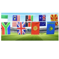 Quality 100% Polyester 82 Feet Decoration Flag Line for sale