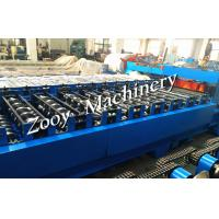 Quality Metal Roof Tile Roll Forming Machine corrugated sheet With 20 Forming Steps for sale