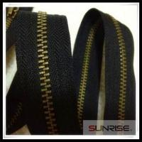 Quality High quality YKK #5 antique brass metal zipper Y teeth C/E for jeans for sale