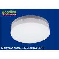 Best Kitchen Emergency LED Ceiling Light , Microwave Sense Dimmable LED Lamps CRI 80Ra wholesale