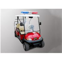Quality Street Legal Police Security Patrol Car 4 Seater For Community / Factory for sale