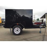 Single Axle 7 X 5 Enclosed Trailer Furniture Vans Trailer For Camper / Moving