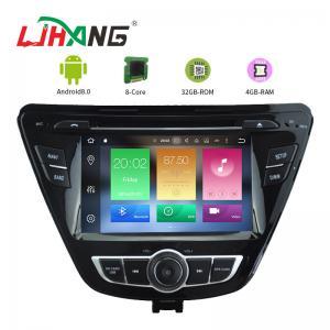 Quality Elantra 2014 Hyundai Dvd Player , 1280*600 Display Hyundai Elantra Car Dvd for sale