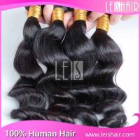 Wholesale high quality grade 5a virgin brazilian hair wavy