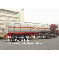 40000L 50000 Liters fuel tank trailer / diesel oil petrol tanker semi trailer