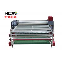 Quality Jacket Rotary Heat Press Machine , 1.9m Width Roller Thermal Transfer Printing Machine for sale