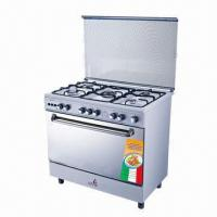 Quality Gas Cooker with Grill and Mechanical Timer for sale