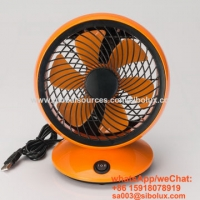 Quality 6 inch Portable USB air circulation fan with oscillating function/smart mini table fan for kids gift/Ventilador for sale