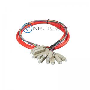 Quality Loose Buffer 0.9mm 12core Multimode Fiber Optic Cable CATV for sale