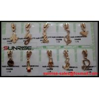 Quality High quality YKK fastener #4.5 Brass YG sliders for jeans for wholesale for sale
