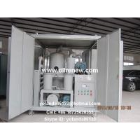 China High Vacuum Transformer Oil Purification Plant | Dielectric Oil Filtration System ZYD-100 on sale
