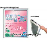 Quality Energy Saving Ultra Thin LED Light Box With Double Sided Poster Frame for sale