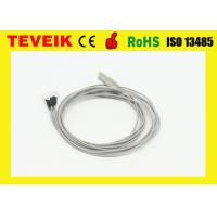 Quality Neural Feedback  EEG cable DIN1.5 socke with Silver plated copper, medical eeg cable for sale