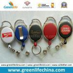 China Factory Direct Multi Styles Custom Logo Printing Plastic Retractable Badge