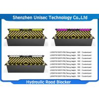 Quality Full Automatic Traffic Hydraulic Road Blocker , Vehicle Road Security Barriers for sale