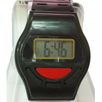 China Human Voice Talking Digit Watch EL Backlight Hourly Chime Watch For Male on sale