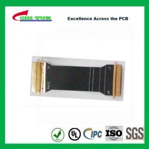 Quality Sillkscreen Flexible PCB Fabrication , Mobile Phone PCB Board Black Solder Mask for sale