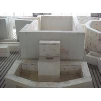 Buy Refractory AZS blocks/Zirconium corundum brick for glass furnace with high at wholesale prices