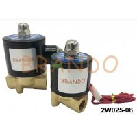 Quality 2/2 Way 2W025-08 Pneumatic Solenoid Valve Flange Type Supply OEM / ODM for sale