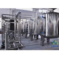 PLC Control Reverse Osmosis Filter Machine , Pure Water Treatment System