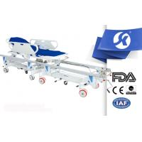 Quality Ambulance Stretcher Patient Transfer Trolley With Central Controll for sale