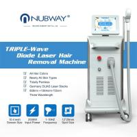 Quality China Professional depilation 808nm laser diode removal hair / diode laser hair removal machine price for sale