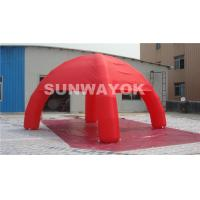 Best Colored Dome 210D Nylon Inflatable Tent Adertising Tent With Four Legs wholesale
